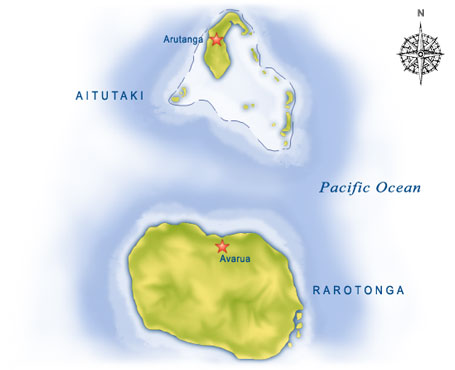 cookIslands Map
