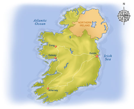 Costco Locations Nc Map.Ireland Vacation Packages At Costco Travel