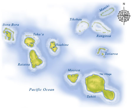 tahitianIslands Map