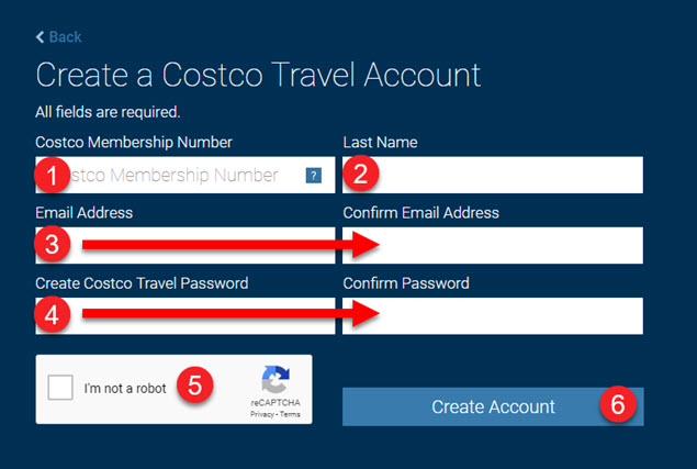 How To Create A Costco Travel Account