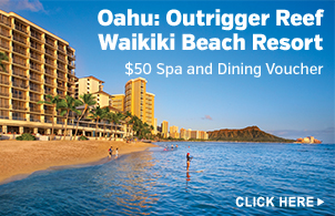 Package for Outrigger Reef Waikiki Beach Resort